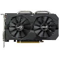 Видеокарта Radeon RX 560, Asus, GAMING, 4Gb DDR5, 128-bit, DVI/HDMI/DP, 1285/7000MHz (ROG-STRIX-RX560-4G-GAMING)