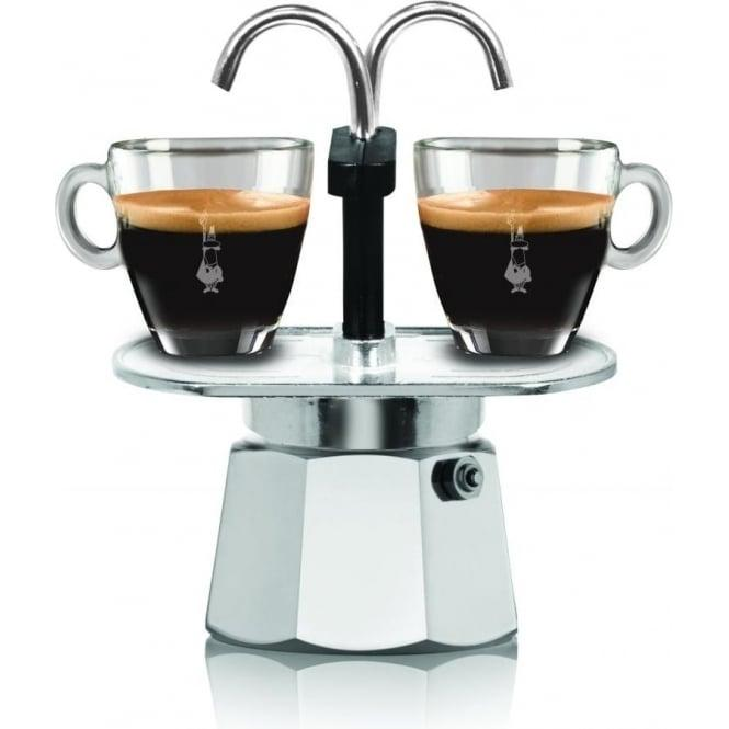 Гейзерная кофеварка Bialetti Mini Express (2 чашки - 120 мл)