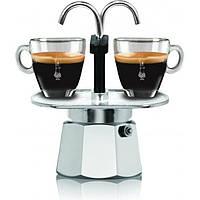 Гейзерная кофеварка Bialetti Mini Express (2 чашки - 120 мл), фото 1
