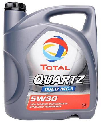 Моторное масло TOTAL QUARTZ INEO MC3 5W-30 5Л, фото 2