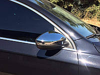 Хром накладки на зеркала Volkswagen Passat B7 / СС / Jetta 11-16 хромированный пластик