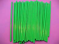 Палочки для кейк-попсов зеленые Украина 15 см