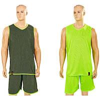 Форма баскетбольная мужская двусторонняя однослойная Ease LD-8801-5