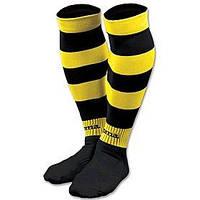 Гетры Zebra черно-желтые- L