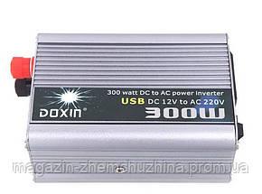 Преобразователь POWER INVERTER 300 W 12 V/220, фото 2