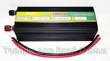Преобразователь POWER INVERTER 7000 W 12 V/220, фото 3