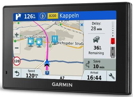 GPS-навігатор Garmin DriveSmart 51 LMT-S Europe