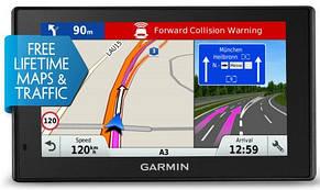 GPS-навігатор з відеореєстратором Garmin DriveAssist 51 LMT-S Europe, фото 2