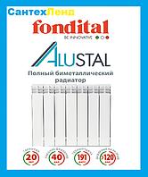 Биметаллический радиатор Fondital Alustal 500*100