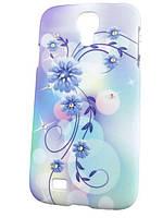 Пластиковый чехол с камушками Swarovski для Samsung Galaxy S4 Цвет №2