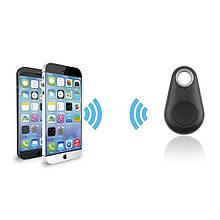 Звуковой брелок для поиска ключей iTag Black,Bluetooth брелок трекер