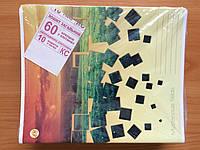 Тетрадь цветная,60 листов, клетка