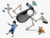 Брелок для поиска ключей Bluetooth, брелок-трекер iTag Black, фото 4