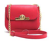 Женская сумка-клатч из искусственной кожи 82448 Бордовый