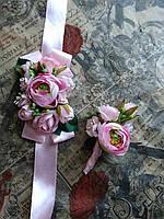 Набор экслюзивных бутоньерок в любом цвете