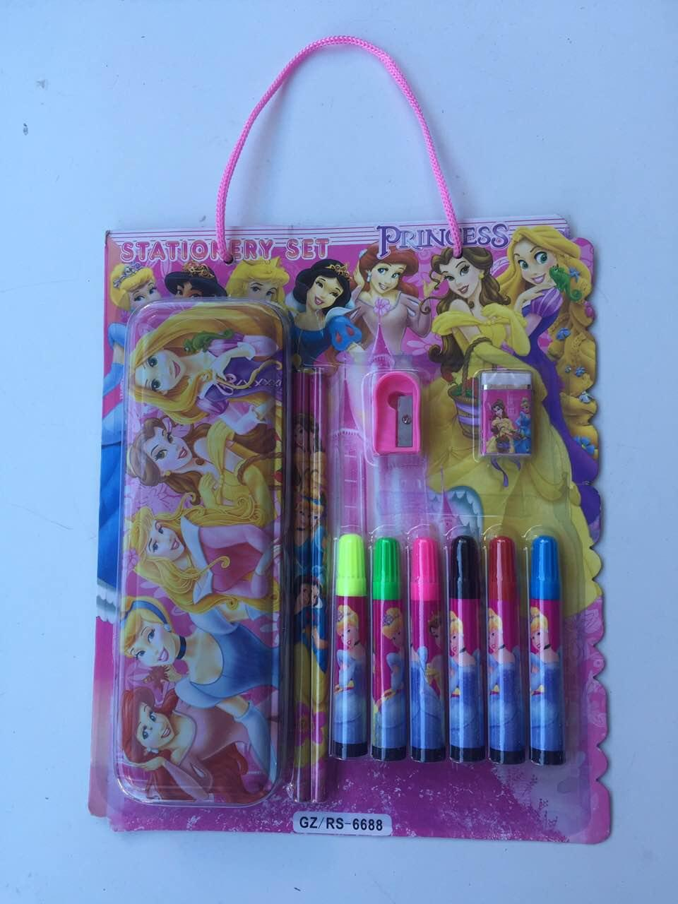 Канцелярский набор Princess от 12 шт
