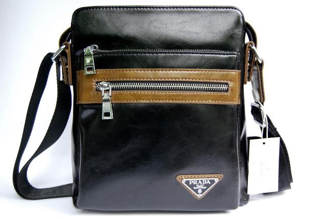 3d7dcfe027cb Сумка через плечо. Мужская сумка Prada. Мужские сумки недорого. Мужские  кожаные сумки.
