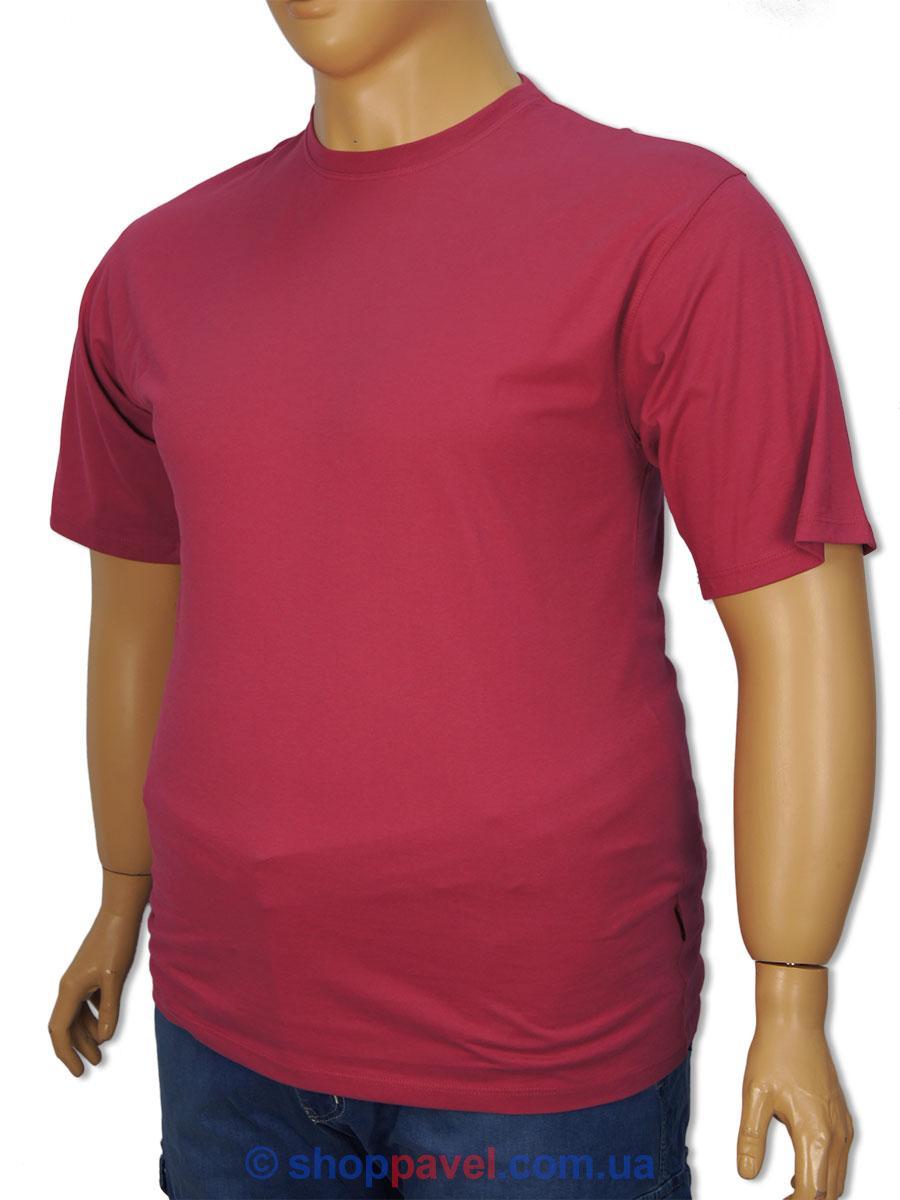 Футболка мужская Laperon PRN-4010 розовая 100% хлопок