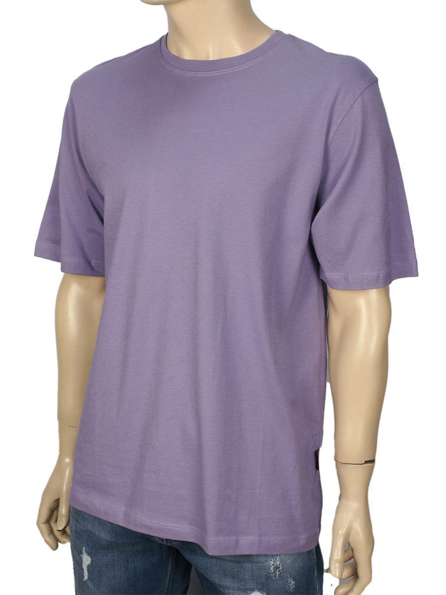 Футболка LaperonPRN-4010  фиолетового цвета 100% хлопок