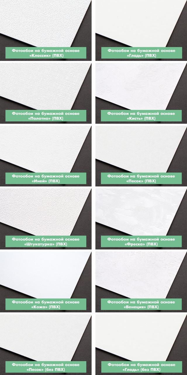 Какие бывают материалы для печати фотообоев