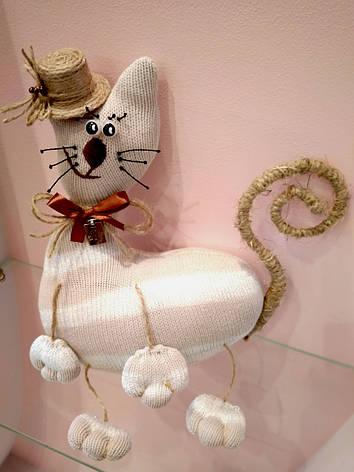 Мягкая игрушка Handmade Кот Бобби, фото 2