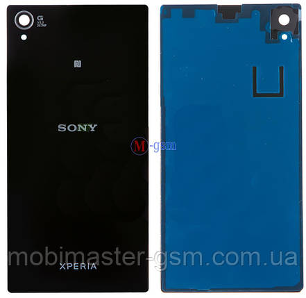 Задняя крышка Sony Xperia Z1, C6902   черная, фото 2