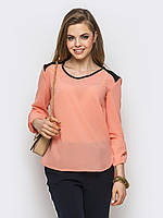 Шифоновая блуза 382 (5 расцветок)