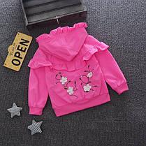 Детская куртка - ветровка на девочку, фото 2