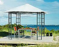 Тканевый павильон (шатер) крыша 3x3м (стальной каркас + влагоотталкивающий)