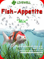 "Cбалансированый корм для карпов кои ""Fish-Appetite"""