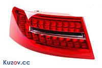Фонарь задний левый Audi A6 C6 08-, внешний LED(Светодиодный)