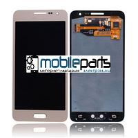 Оригинальный Дисплей (Модуль) + Сенсор (Тачскрин) для Samsung SM-A300H Galaxy A3 service (Золотой)