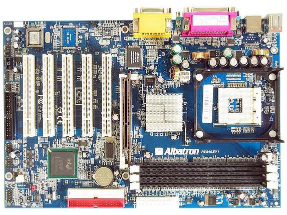 Albatron PX845EV1 Intel Vista
