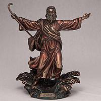 """Статуэтка Veronese """"Моисей"""" 22 см (под бронзу)"""