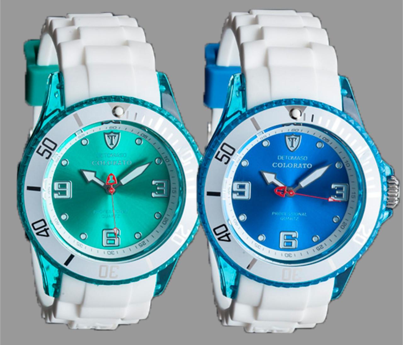 Наручний годинник Detomaso Colorato Transparent M - 4 варіанти
