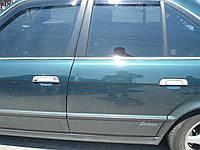 Хром накладки на ручки BMW E34 / E32 / E36 (нержавеющая сталь)