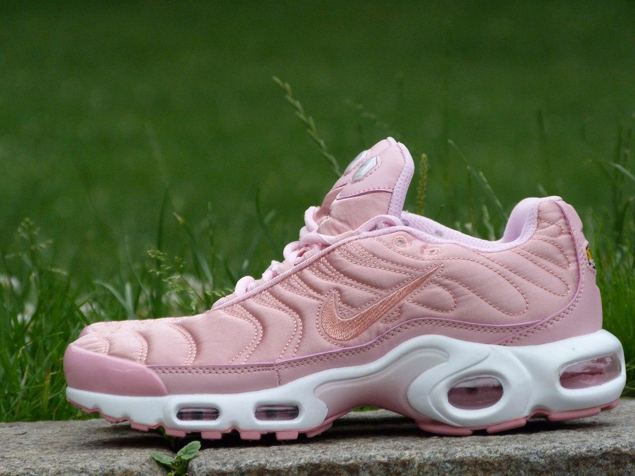 1a337296e40a Женские кроссовки Nike Air Max Tn+ Satin Pack Pink - Shoes Shop в Киеве