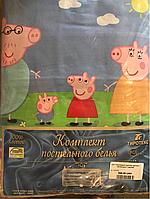 1007 Полуторный комплект детского постельного Тиротекс