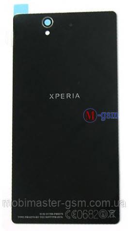 Задняя крышка Sony Xperia Z, C6603 черная