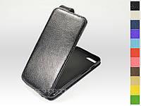 Откидной чехол из натуральной кожи для Apple iPhone 7 Plus