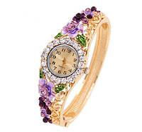 Наручные часы с австрийскими кристаллами