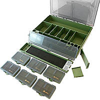 Коробка (бокс)для карповой рыбалки Acropolis