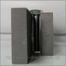Плашка плоская резьбонакатная (к-кт из 2х штук) М6х1 L125 1416-0155