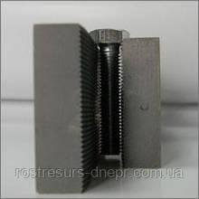 Плашка плоская резьбонакатная (к-кт из 2х штук) М2х0.4 L85 1416-0029