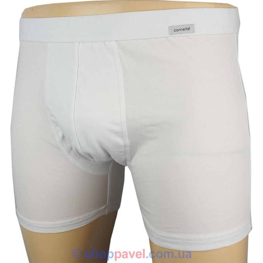 Белые мужские боксеры Cornette 0120