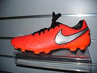 Футбольные бутсы Nike Tiempo Genio Leather II FG 819213-608