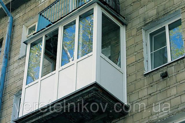Балконы «французские» (под ключ). Остекление балконов.