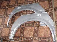 Ремчасть заднего левого крыла (арка) Transit 00-06