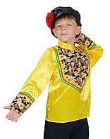 Рубаха народная + картуз для кадрили, национальный костюм для мальчика