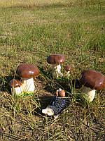 Садовые фигуры Грибы  боровики + Еж с грибами в подарок